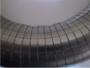 "An experimental study by the ""method of grids"" of the deformations' degree and nature in the longitudinal and transverse sections of the pipe walls with their bending and rolling for different diameters and materials was carried out. The obtained results allow to calculate these deformations, to estimate the nature of the distribution of residual stresses and to predict the magnitude of the pipe walls' thinning and the overall service life."