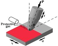 Новый метод ультразвуковй ударно-фрикционной обработки для поверхностного упрочнения конструкционной стали.