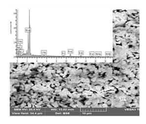 Электрические свойства поликристаллических образцов ниобата висмута Bi5Nb3O15 и хромсодержащих твердых растворов Bi5Nb3-3хCr3хO15-δ (х≤0.08) изучены методом импеданс-спектроскопии. На основании проведенных исследований сделан вывод об электронно-ионном характере проводимости твердых растворов Bi5Nb3-3хCr3хO15-δ.