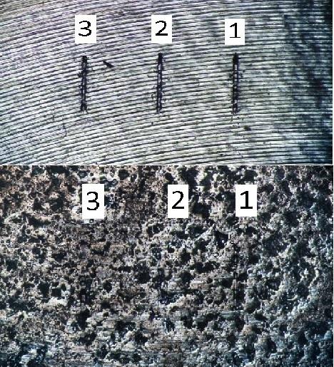 Проведено сравнительное исследование износостойкости, твердости и модуля упругости образцов из титанового сплава ВТ6 с минеральным покрытием, созданным при использовании низкотемпературных технологических операций, и без покрытия. Учитывая особенности измерения физико-механических свойств тонких модифицированных слоев, измерение износостойкости было выполнено методом многоциклового трения сапфировой сферой с контролем силы прижима и углубления наконечника в образец. Создание минерального слоя увеличило твердость поверхности образца из титанового сплава на 45-70%. Износостойкость поверхности образца, модифицированной минералами, увеличилась в 4-5 раз по сравнению с износостойкостью поверхности титанового сплава ВТ6 без модификации.
