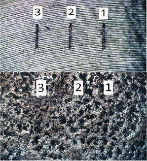 The comparative research of wear resistance, hardness and elastic modulus of exemplars from titanic BT6 alloy with the mineral coating created when using the low-temperature technological operations and without coating is conducted. Considering features of measurement of physico-mechanical properties of thin modified layers, measurement of wear resistance was executed by method of a multi-cycle sliding friction by the sapphire sphere with monitoring of force of a clip and deepening of a tip in an exemplar. Creation of a mineral layer increased hardness of a surface of an exemplar from titanic alloy by 45-70%. The wear resistance of the surface of an exemplar modified by minerals increased by 4-5 times in comparison with wear resistance of a surface of titanic BT6 alloy without modification.