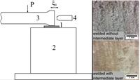 Добавление прокладки между свариваемыми поверхностями обеспечивает более качественную ультразвуковую сварку.