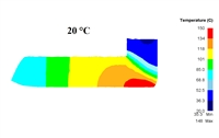 Investigation of deformation heating during ECAP using the Deform-3D complex for mathematical modeling.