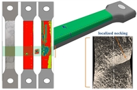 Prediction exactly of the failure zone in Lead rupture within the same non-homogeneous zone  previously detected exactly using Scanning Contact Potentiometry technique,which was done in the elastic mode before conducting the tensile test.
