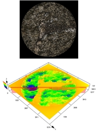 Технология конфокальной лазерной сканирующей микроскопии позволяет с высокой точностью воспроизводить топологию коррозионных повреждений, определять объем потерянного металла и скорости локальной и общей коррозии