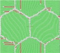 Предложен метод построения исходных атомных моделей нанокристаллов с внесенными дислокациями в границах зерен для молекулярно-динамического моделирования. Метод использован для определения атомной структуры и энергий границ зерен в колончатых нанокристаллах с осью колонны [112].