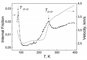 At cooling from T~ 400 K a La0.82Ca0.18MnO3 single crystal undergoes the transition from pseudocubic O* phase to Jahn-Teller O' phase and the reverse transition from the O' to low temperature O* phase. It is surprising that low values of the internal friction are observed for crystal phase O' with significant Jahn-Teller distortions of oxygen octahedra.
