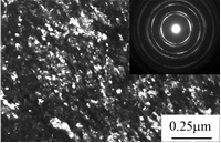 Комбинированная обработка ДКУП + старение при 400°С + ИПД трением приводит к формированию в материале поверхностного слоя СМК сплава Cu–0.09Cr–0.08Zr нанокристаллической структуры трения с размером кристаллитов 15–30 нм, что обеспечивает высокий уровень микротвердости сплава и удовлетворительные трибологические свойства.