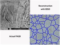 Реконструкция границ бывших зерен аустенита и её верификация термическим травлением в вакууме