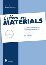 Letter On Materials